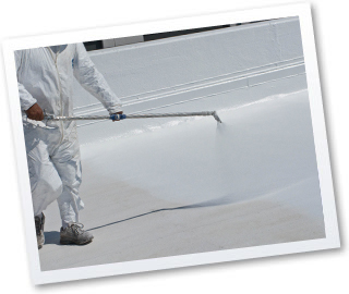 White reflective roof coatings and accessories american for Most reflective white paint